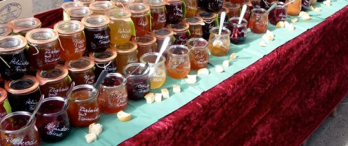 Marmelade auf dem Kollwitzmarkt