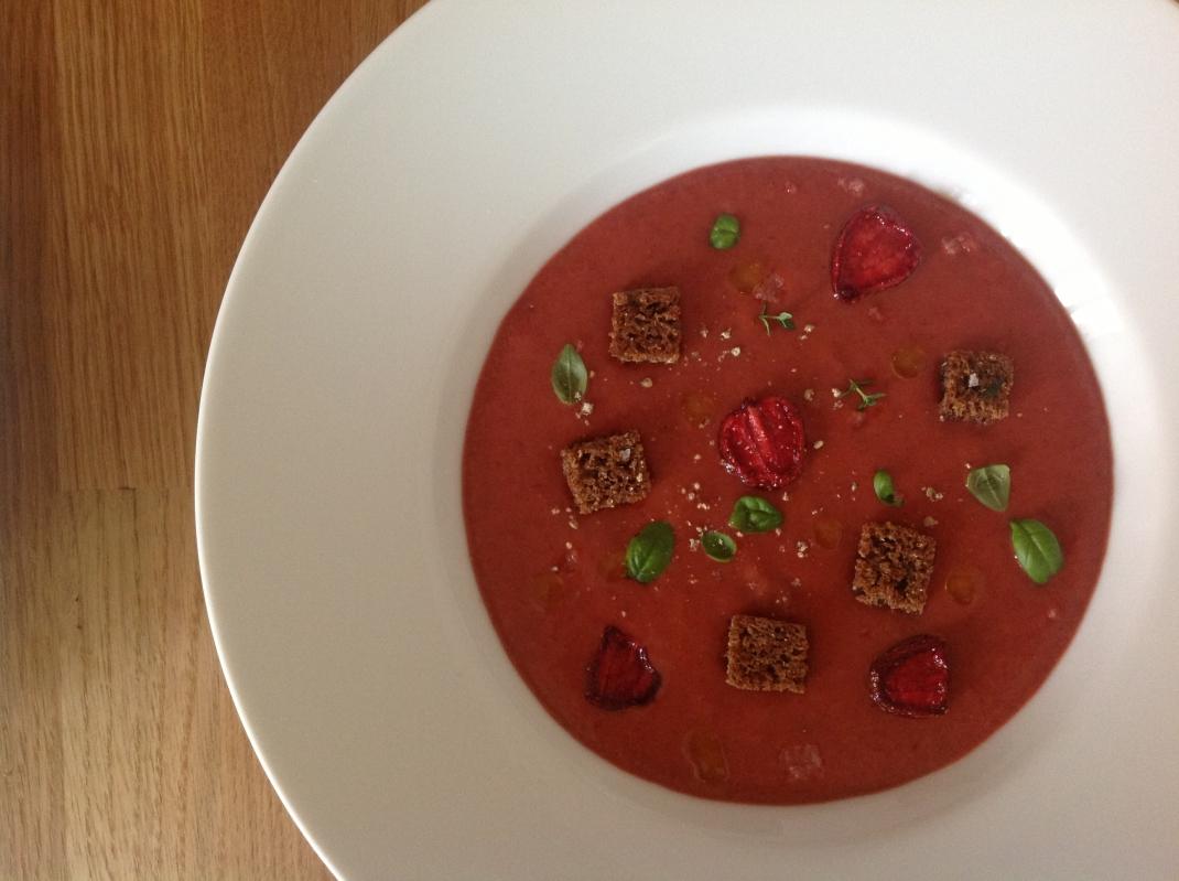 Erdbeergazpacho