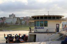 Lifeguard at Bondi Beach