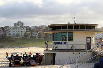 Lifeguard at Bondi Beach