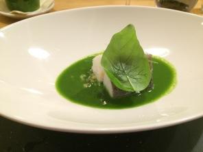 Grüne Suppe